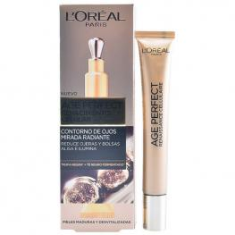 Gel Para Contorno de Ojos Age Perfect L'Oreal Make Up (15 Ml)