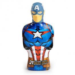 Gel y Champú 2 En 1 Avengers Capitán América Cartoon (475 Ml)
