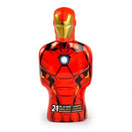 Gel y Champú 2 En 1 Avengers Iron Man Cartoon (475 Ml)