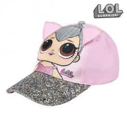 Gorra Infantil Con Orejas 3D Lol Surprise! 74091 Rosa (54 Cm)