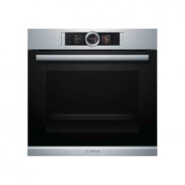 Horno Pirolítico Bosch Hbg6764S1 71 L Display Tft 3600W Negro Acero Inoxidable