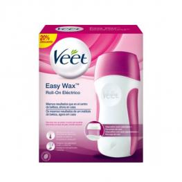 Kit de Depilación Eléctrica Con Cera Tibia En Roll-On Veet Easy Wax