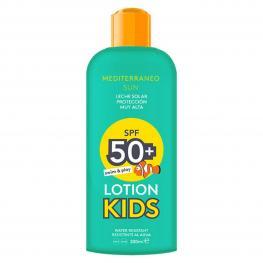 Leche Solar Kids Swim & Play Mediterraneo Sun Spf 50 (200 Ml)