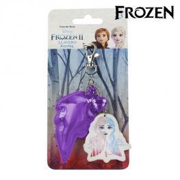 Llavero 3D Anna Frozen 74048 Morado
