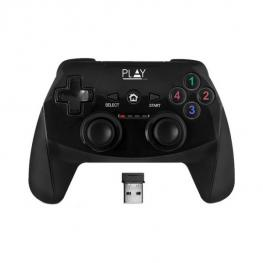 Mando Gaming Inalámbrico Ewent Pl3331 2.4 Ghz 600 Mah Ps3/pc Negro