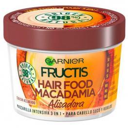 Mascarilla Capilar Nutritiva Alisadora Hair Food Macadamia Fructis (390 Ml)