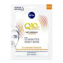 Mascarilla Facial Q10+ Nivea