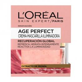 Mascarilla Iluminadora Age Perfect L'Oreal Make Up (50 Ml)