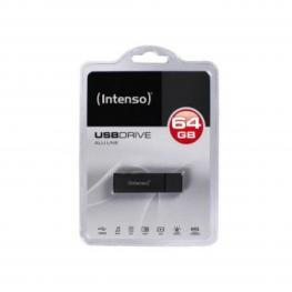 Memoria Usb y Micro Usb Intenso Alu Line 64 Gb Antracita