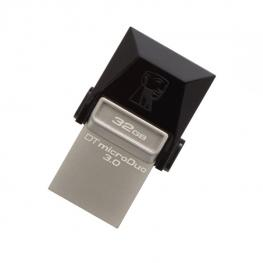 Memoria Usb y Micro Usb Kingston Dtduo3 32 Gb Usb 3.0 Negro Gris