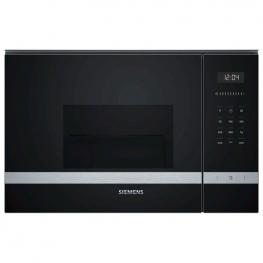 Microondas Integrable Con Grill Siemens Ag Be525Lms0 Mf 20 L 1270W Negro