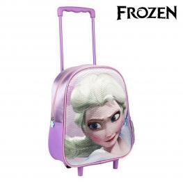 Mochila Escolar Con Ruedas Frozen 77000