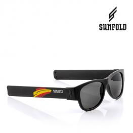 Outlet Gafas de Sol Enrollables Sunfold Mundial Spain Black (Sin Embalaje)