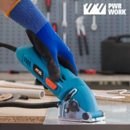 Outlet Sierra Circular Compacta All·materials Mini Saw Pwr Work (Sin Embalaje)