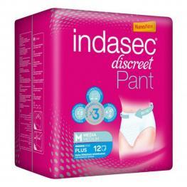 Pañales Para Personas No Dependientes Pant Plus Indasec (12 Uds)