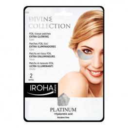 Parches Para el Contorno de Ojos Platinum Iroha (2 Uds)