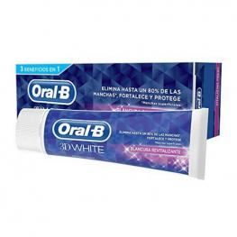 Pasta de Dientes Blanqueadora 3D White Oral-B (75 Ml)