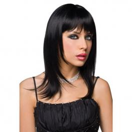 Peluca Negra Pleasure Wigs 00318