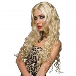 Peluca Rubia Platino Pleasure Wigs 06133