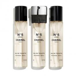 Perfume Mujer Nº 5 Twist & Spray Chanel Edp (3 X 7 Ml)