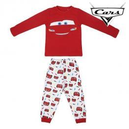 Pijama Infantil Cars 74733 Rojo Blanco (2 Pcs)