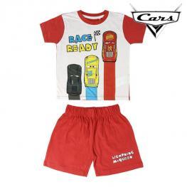 Pijama Infantil Cars Rojo Blanco