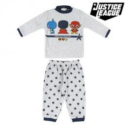 Pijama Infantil Justice League 74682 Gris