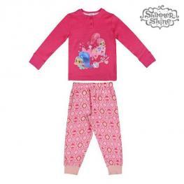Pijama Infantil Shimmer And Shine 73115 Fucsia