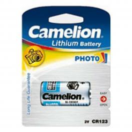 Pila Camelion Lithium Cr123A-Bp1 3V