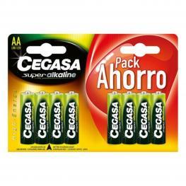 Pilas Alcalinas Cegasa Lr6 Aa 1,5V (8 Uds)