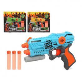 Pistola de Dardos Zombie Strike 111377 Azul
