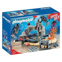 Playset City Super Set Action Diving Unit Playmobil 70011 (56 Pcs)