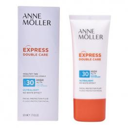 Protector Solar Fluido Express Double Care Anne Möller Spf 30 (50 Ml)