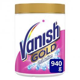Quitamanchas En Polvo Vanish Oxi Gold White 940 G