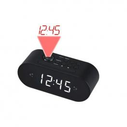 Radio-Reloj Denver Electronics Crp-717 1 Led Negro