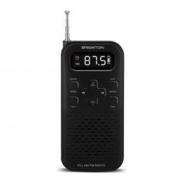 Radio Transistor Brigmton Bt-127N 3W 800 Mah Negro
