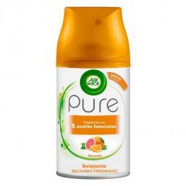Recambio Para Ambientador Air Wick Freshmatic Pure Relajante Naranja 250 Ml
