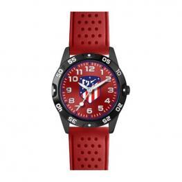 Reloj Cadete Atlético Madrid Rojo Negro