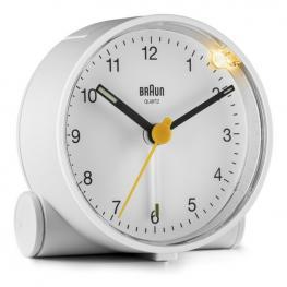 Reloj-Despertador Analógico Braun Bc-01-W Blanco