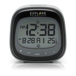 Reloj Despertador Explore Scientific Rdc-3006 Lcd Negro