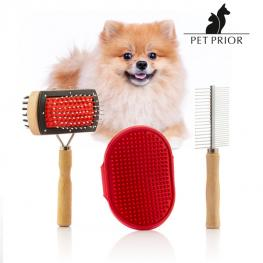 Set de Cepillos Para Perros Collection Pet Prior (3 Piezas)