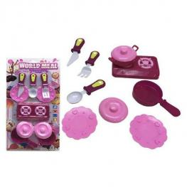 Set de Cocina World Meal (21 X 42 Cm)
