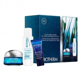Set de Cosmética Mujer Blue Therapy Eye Cream Biotherm (3 Pcs)