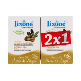 Set de Jabones Argan Oil Lixoné (2 Pcs)