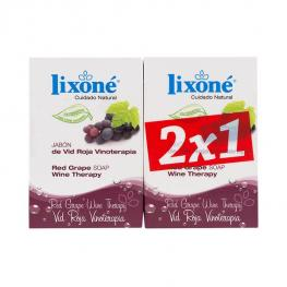 Set de Jabones Red Grape Wine Lixoné (2 Pcs)