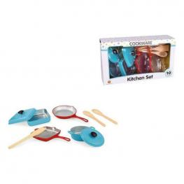 Set de Menaje Infantil Kitchen Set (10 Pcs)