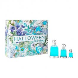 Set de Perfume Hombre Halloween Blue Drop Jesus del Pozo Edt (3 Pcs)