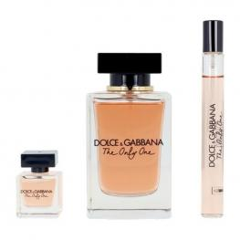 Set de Perfume Mujer The Only One Dolce & Gabbana Edp (3 Pcs)