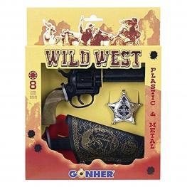 Set de Pistolas del Oeste Gonher (3 Pcs)