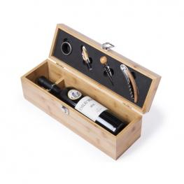 Set de Vino Premium (4 Pcs) Bambú 146100